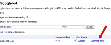 A New Way To Submit URLs to Google