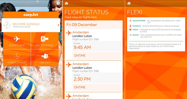 Low Cost Airlines that offer Mobile Phone Apps