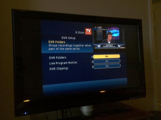 DVR Settings