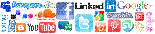 social networking drawn