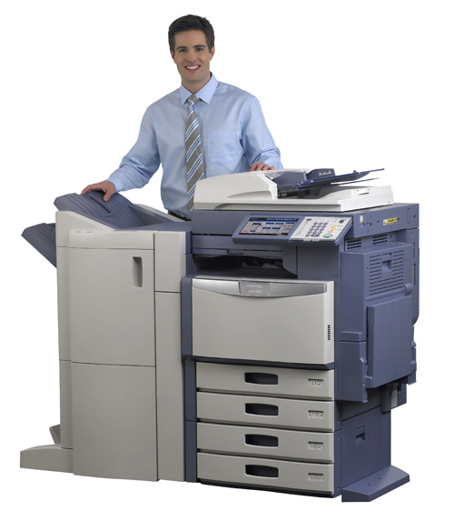Keeps Business Running Smoothly With A Toshiba Copier?