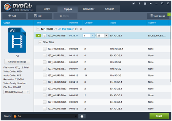 DVDFab DVD Ripper Delivers The Perfect Outcome To Rich Your Video
