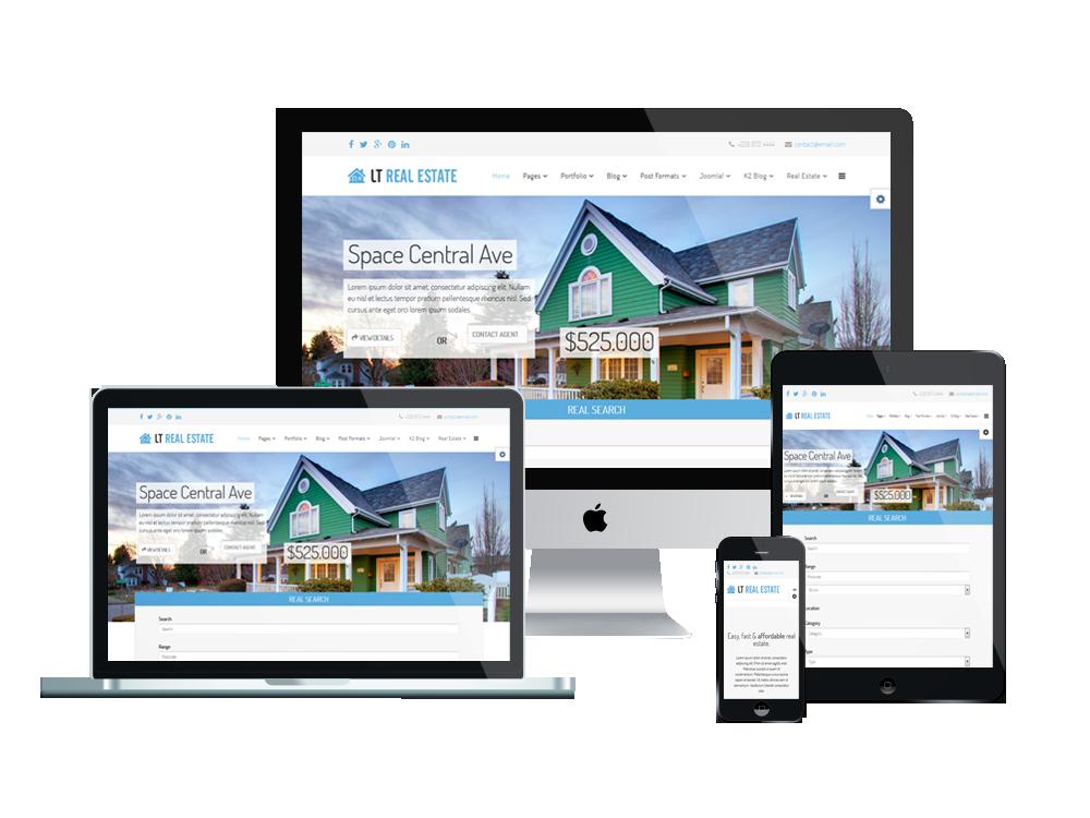 Choose The Joomla For Designing The Real Estate Website