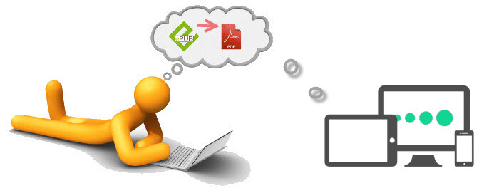 Converting Files from EPUB to PDF