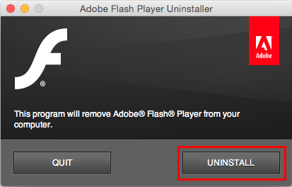 How To Uninstall Flash Player On Mac