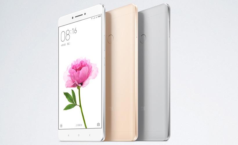 Xiaomi Mi Max Smartphone 6.4-Inch Display With Big 4,850 mAh Li-Polymer Battery