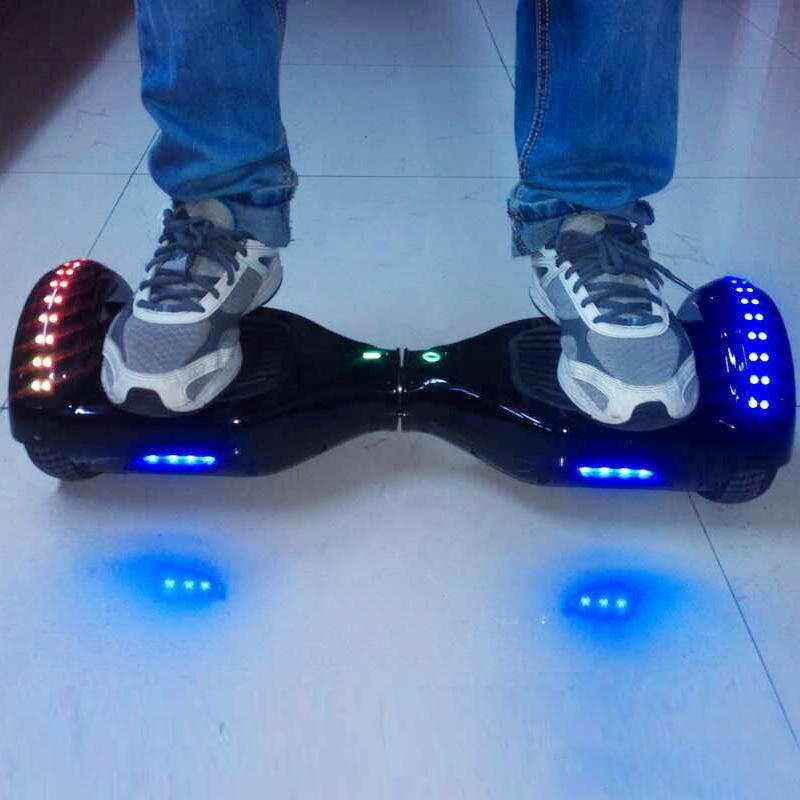 Flashing Wheel Scooter technology