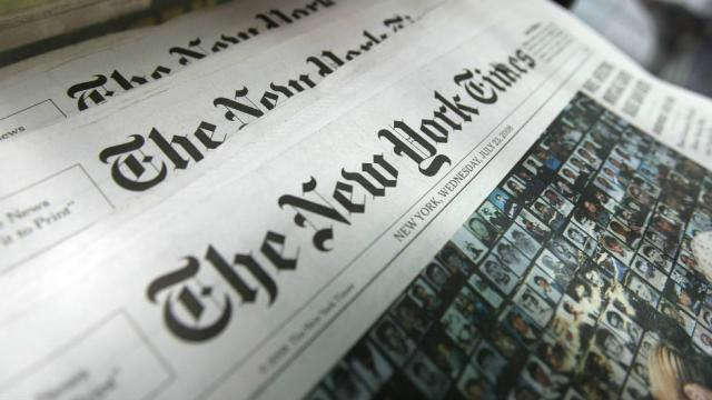 Plagiarism Forces Resignation At New York Times